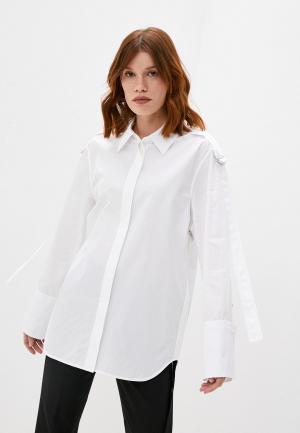 Рубашка Helmut Lang. Цвет: белый