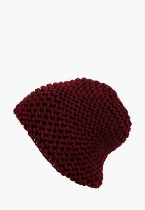 Шапка Fete. Цвет: бордовый