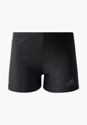 Плавки adidas. Цвет: черный