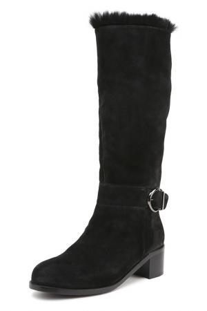 Сапоги ALBA. Цвет: черный