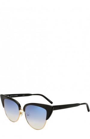 Солнцезащитные очки Matthew Williamson. Цвет: черный