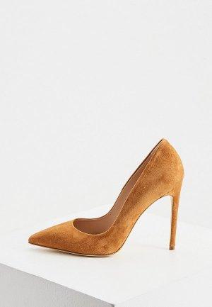 Туфли Elisabetta Franchi. Цвет: коричневый