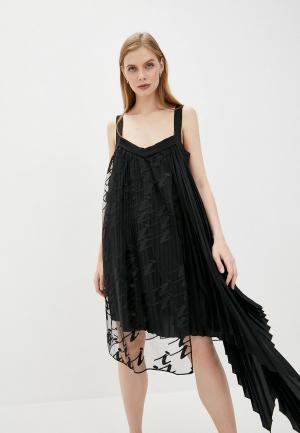 Платье Iceberg. Цвет: черный