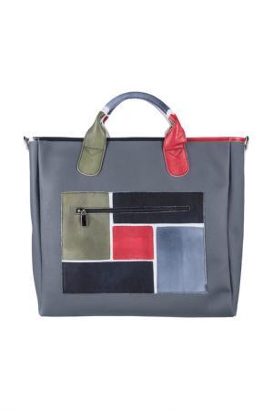 Дорожная сумка Astore. Цвет: серый