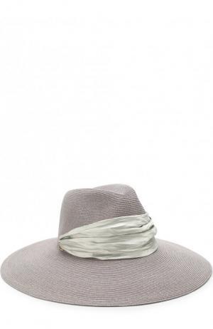 Шляпа Cassidy с лентой Eugenia Kim. Цвет: сиреневый