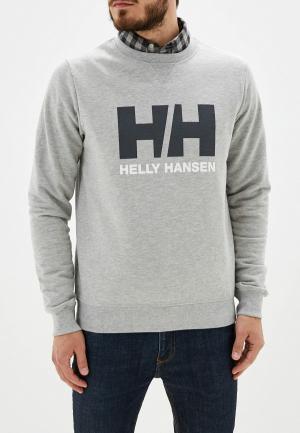 Свитшот Helly Hansen. Цвет: серый