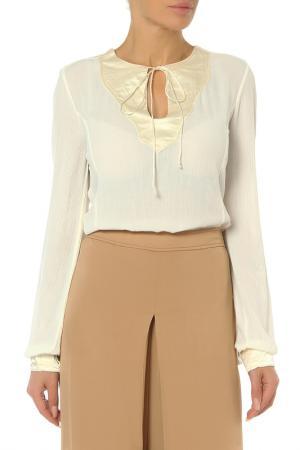 Блуза MANILA GRACE. Цвет: md482 avorio
