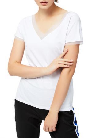 Shirt MOODO. Цвет: white