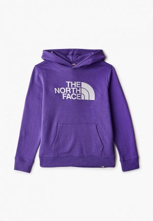 Худи The North Face. Цвет: фиолетовый