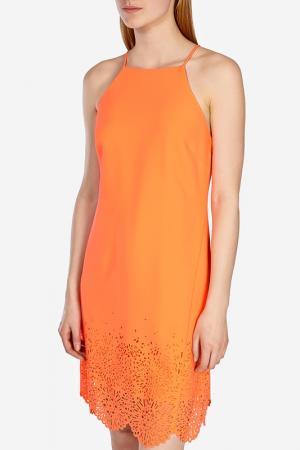 Платье KAREN MILLEN. Цвет: coral