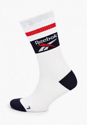 Носки Reebok Classic. Цвет: белый