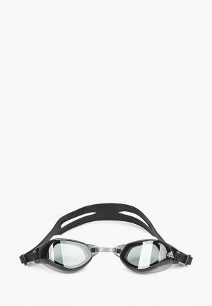 Очки для плавания adidas. Цвет: черный