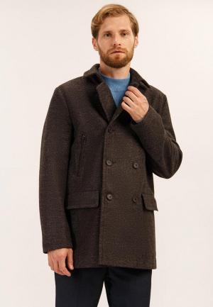 Пальто Finn Flare. Цвет: коричневый