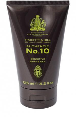 Гель для бритья чувствительной кожи Authentic No. 10 Truefitt&Hill. Цвет: бесцветный