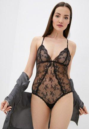 Боди Stella McCartney Underwear. Цвет: черный