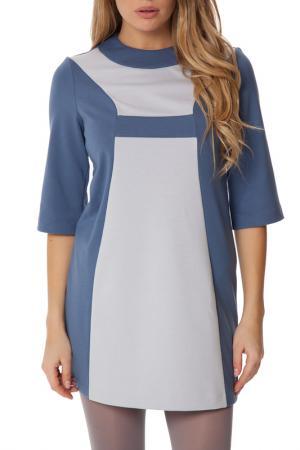 Платье Gloss. Цвет: серо-голубой