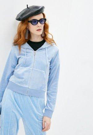 Толстовка Juicy Couture. Цвет: голубой