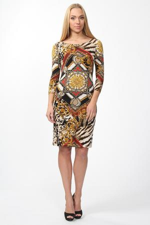 Платье Lissa. Цвет: коричневый