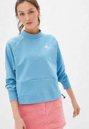 Юбка adidas Originals. Цвет: розовый