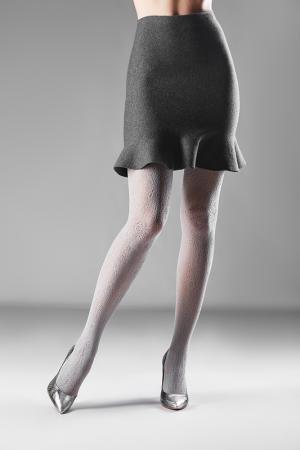 Колготки LE CABARET. Цвет: серый