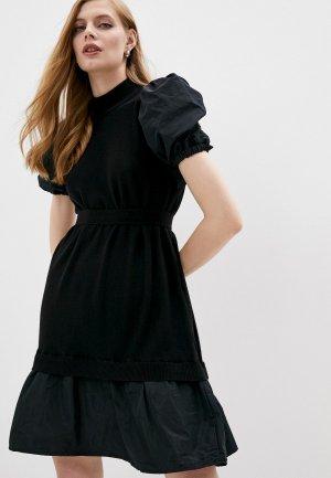 Платье Twinset Milano. Цвет: черный