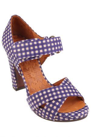 Туфли CHIE MIHARA. Цвет: фиолетовый