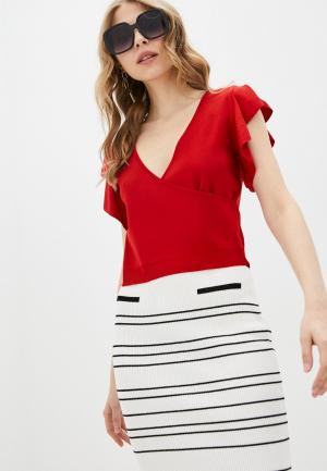 Пуловер adL. Цвет: красный