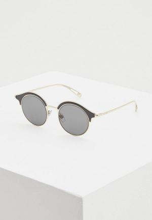 Очки солнцезащитные Giorgio Armani. Цвет: золотой