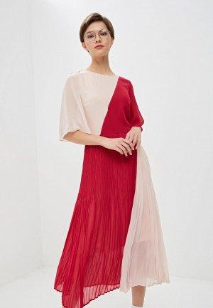 Платье Hugo. Цвет: розовый
