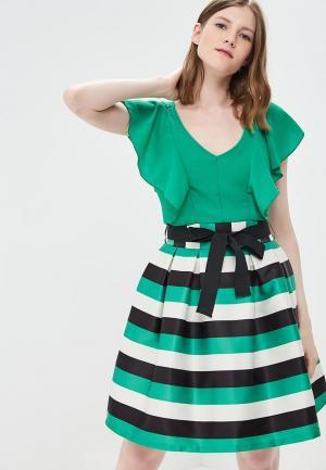 Платье Rinascimento. Цвет: зеленый