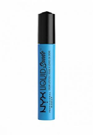 Помада Nyx Professional Makeup. Цвет: голубой