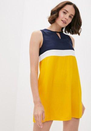 Платье Element. Цвет: желтый
