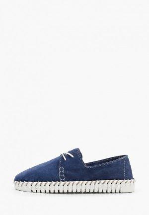 Ботинки MCM. Цвет: синий