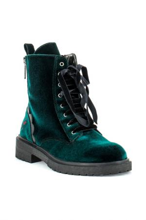 Ботинки fornarina. Цвет: зеленый