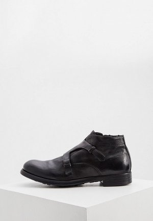 Ботинки Officine Creative. Цвет: черный