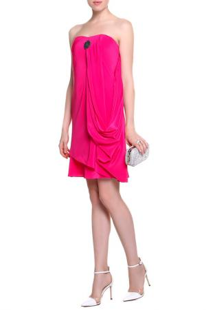 Платье Faith. Цвет: фуксия