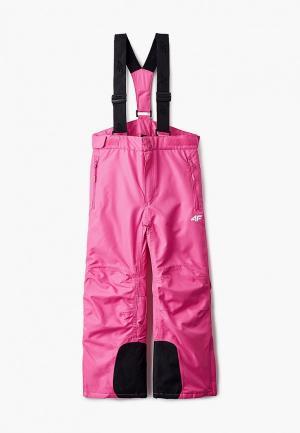 Брюки горнолыжные 4F. Цвет: розовый