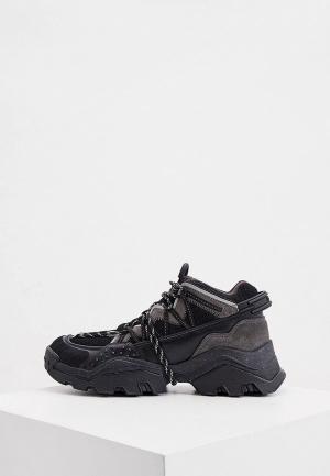 Кроссовки Kenzo. Цвет: черный