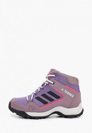 Ботинки adidas. Цвет: фиолетовый