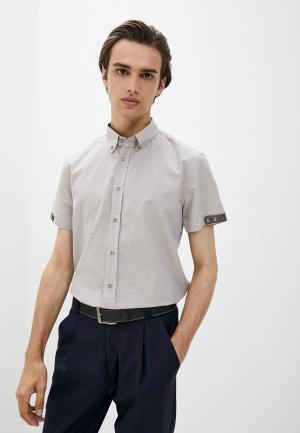 Рубашка Alessandro DellAcqua Dell'Acqua. Цвет: бежевый