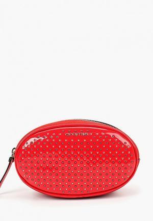 Сумка поясная Cromia. Цвет: красный
