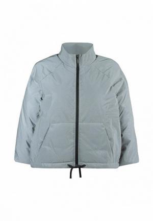 Куртка утепленная Dnk. Цвет: серый