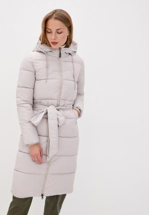 Куртка утепленная Mamma Mia. Цвет: бежевый
