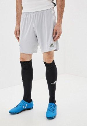 Шорты спортивные adidas. Цвет: серый