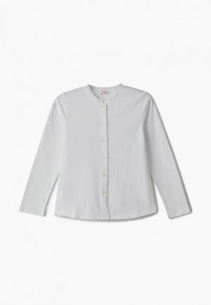 Блуза Il Gufo. Цвет: белый