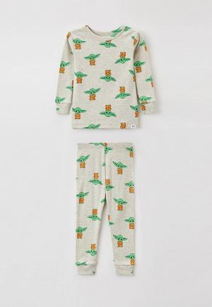 Пижама Gap. Цвет: серый