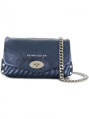 Маленькая сумка Emily Marc Ellis. Цвет: синий