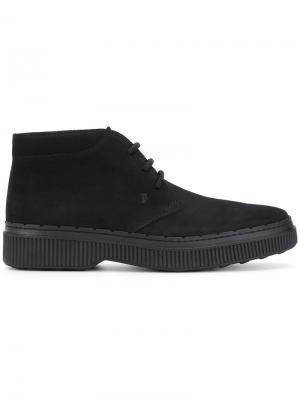 Ботинки Дезерты Tods Tod's. Цвет: чёрный