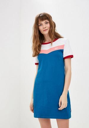 Платье Vans. Цвет: синий