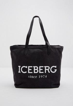 Сумка Iceberg. Цвет: серый
